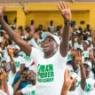 N-Power: Nigerians hold 'Thank You Rally' to Aso Villa