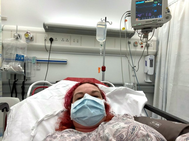 Woman fighting COVID-19 says it 'feels like her body is on fire'