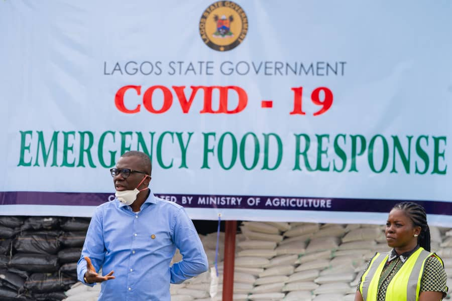 COVID-19: Sanwo-Olu rolls out economic stimulus for residents (pictures)