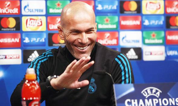 Refs not helping Real Madrid, Zidane tells Pique