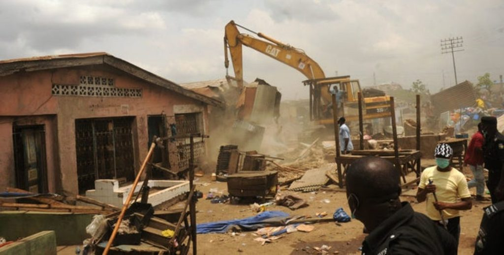 FCT demolishes illegal structures, workshops after 7 years notice