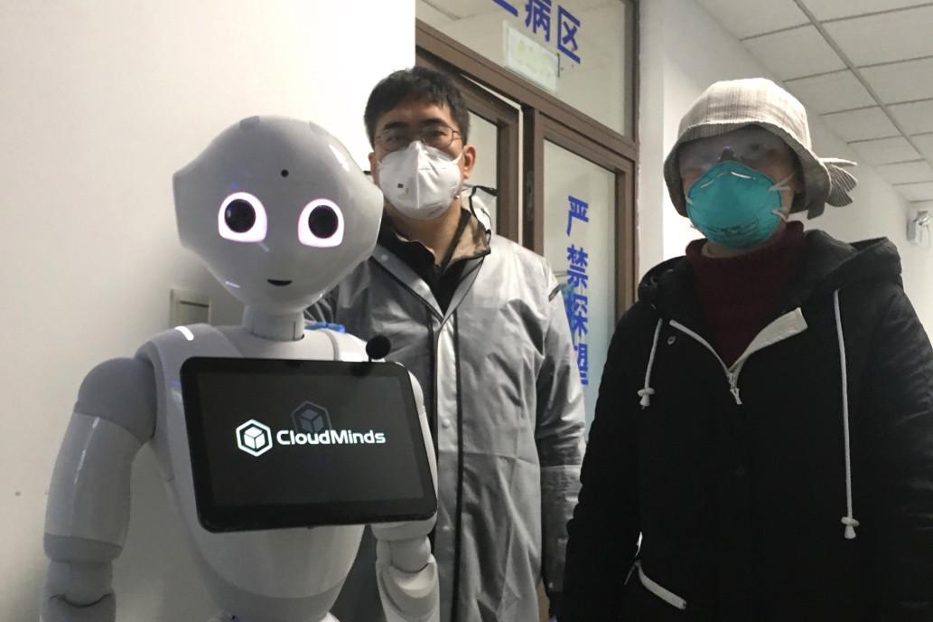 Coronavirus, Robots, Hospital
