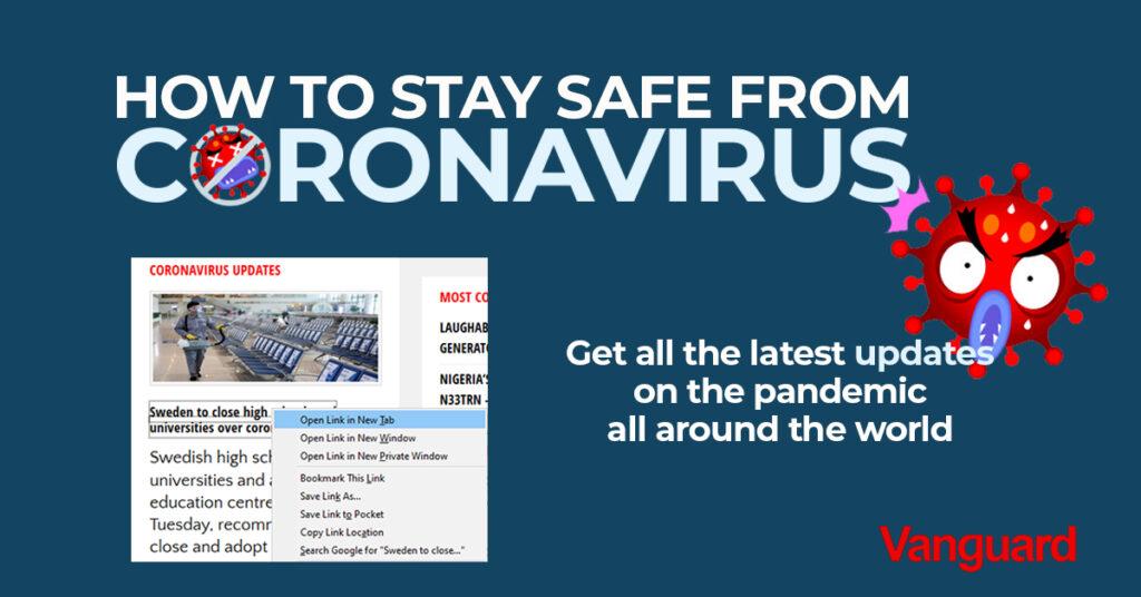 Coronavirus: Ekiti gov, Fayemi, confirms 38-yr-old male tests positive