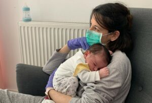 Untouchable: Story of the baby born to a mum with coronavirus