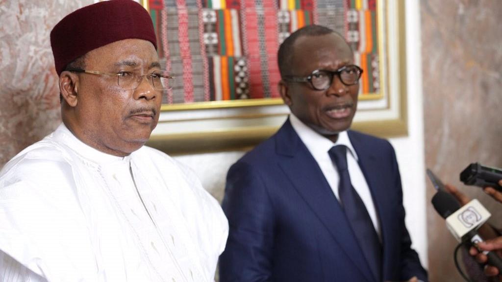 Niger, Issoufou, Lockdown