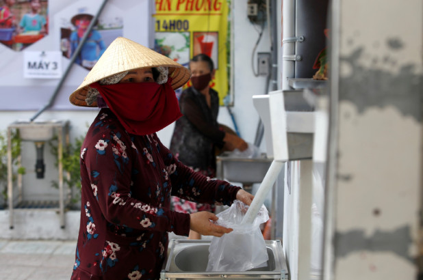 Rice ATM, Vietnam