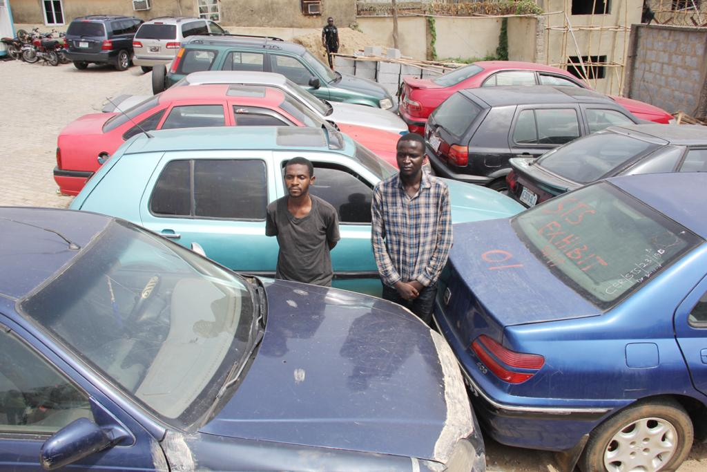 Police Special Tactical Squad bust notorious car stealing syndicate