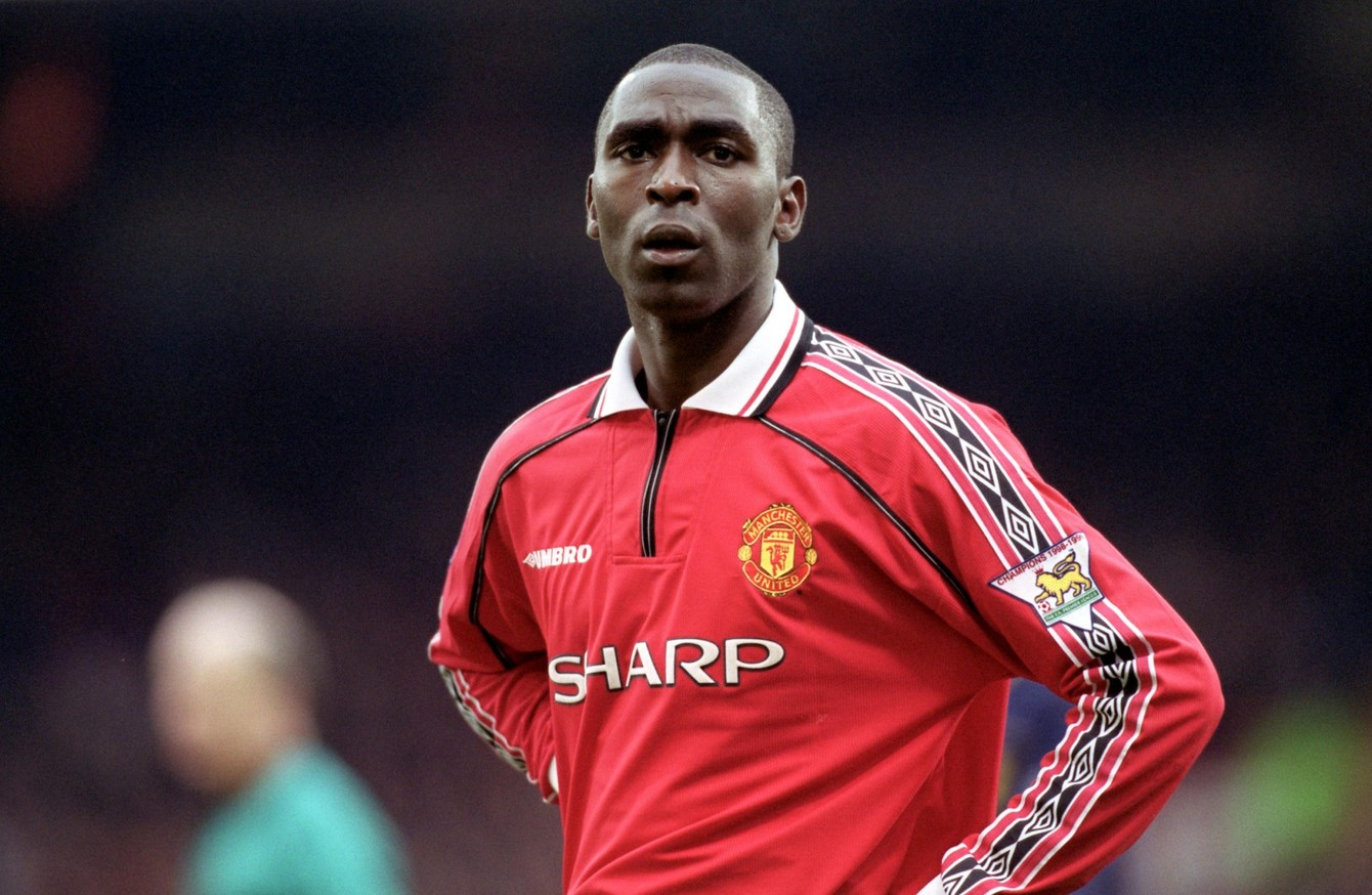 Andy Cole, Man Utd, kidney research