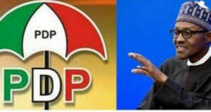 June 12: PDP flays Buhari, APC, says democracy endangered in past five years