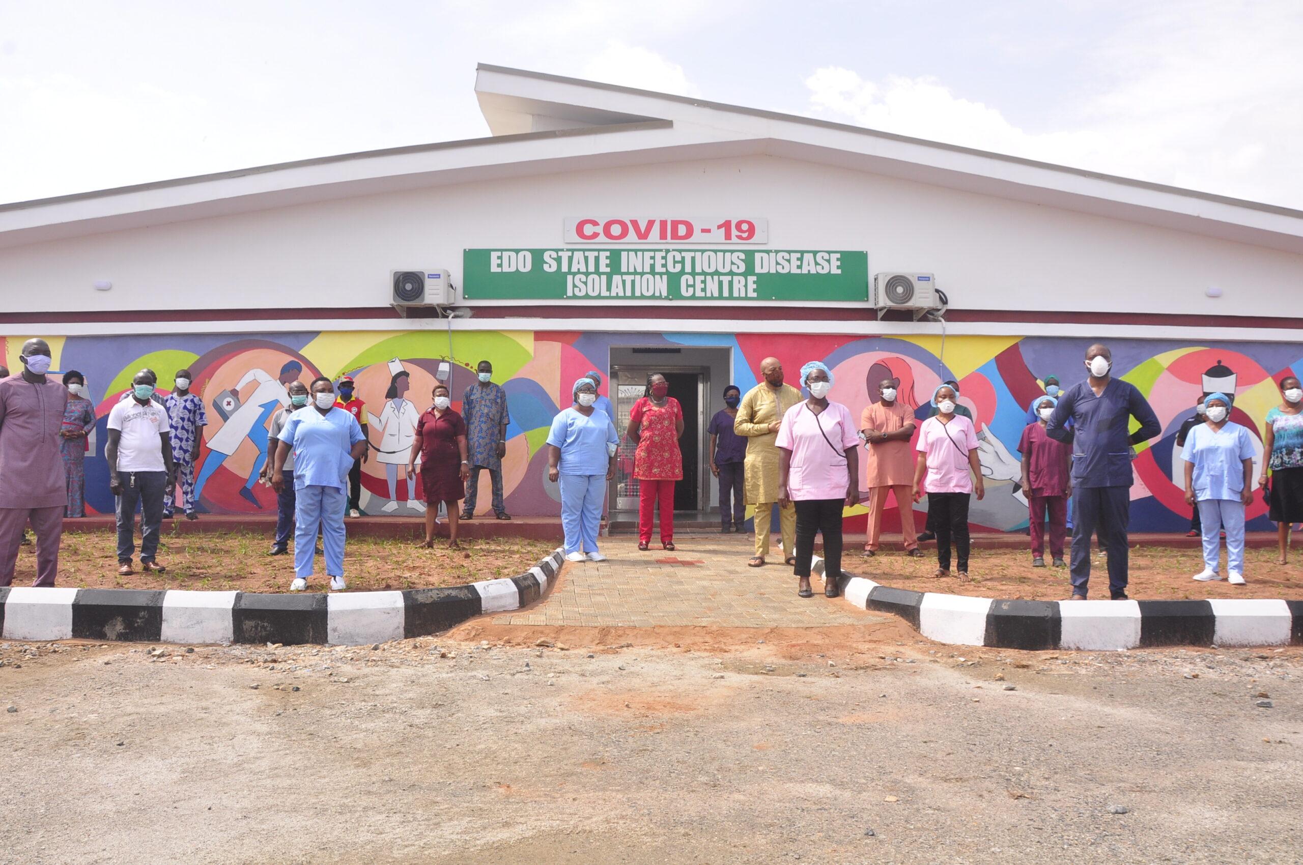 Edo, Isolation Centre, Coronavirus