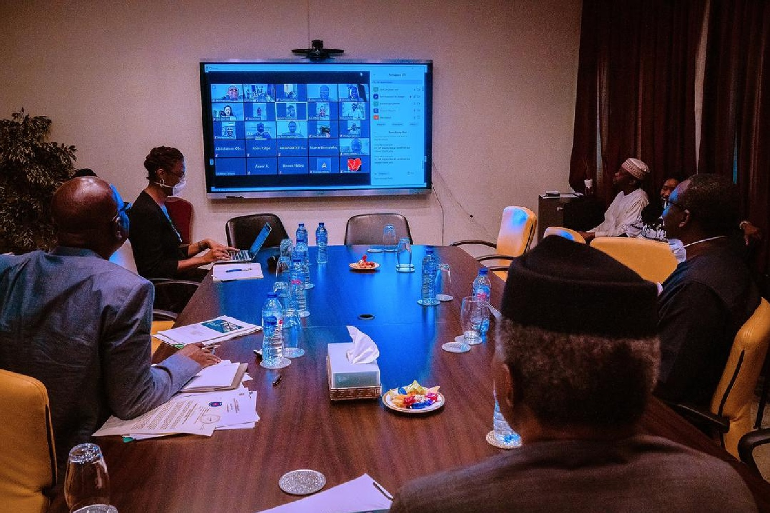 COVID-19: Osinbajo, governors, British PM others popularise digital meetings
