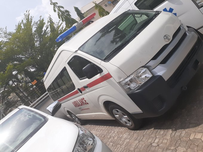 NCDC receives ambulance, medical equipment, others from Living Faith Church