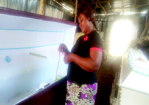 How Jos Crisis opened doors for me  — Female casket maker