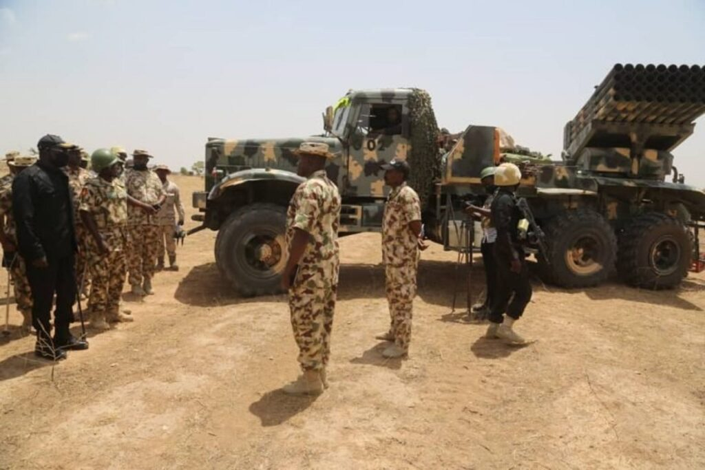 Buratai continues operational tour of troops' locations in North East