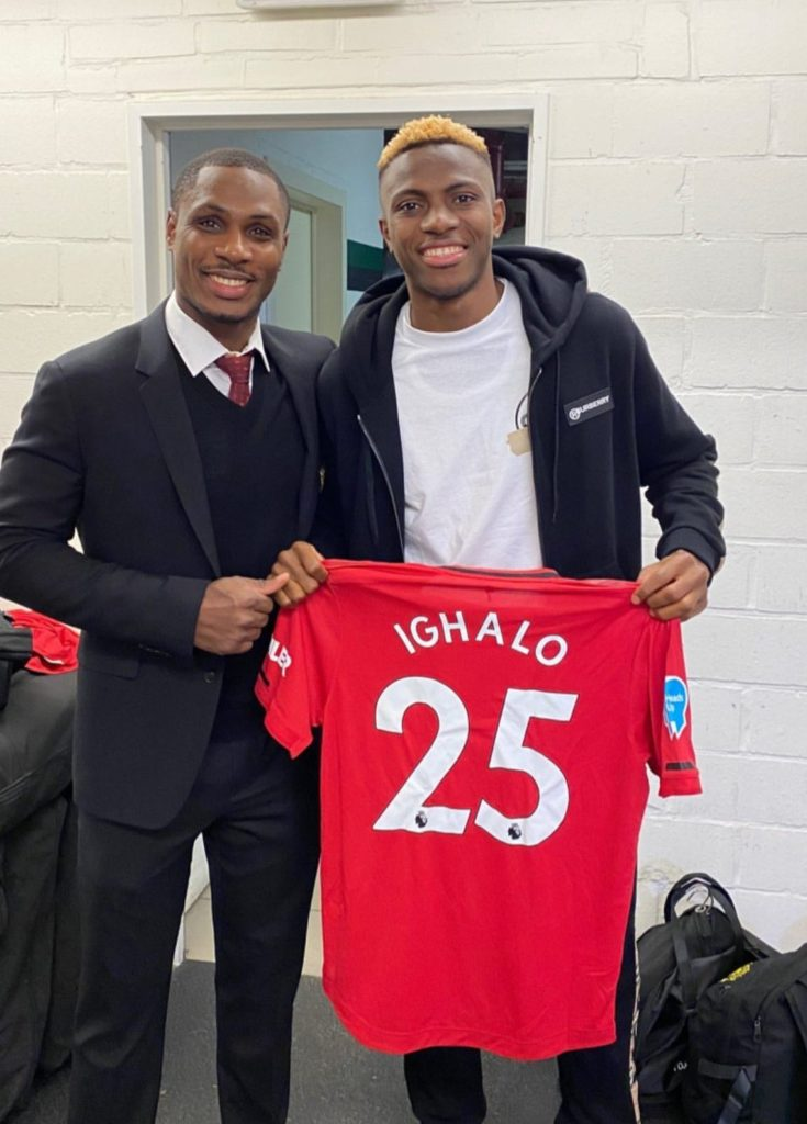 Odion Ighalo, Victor Osimhen