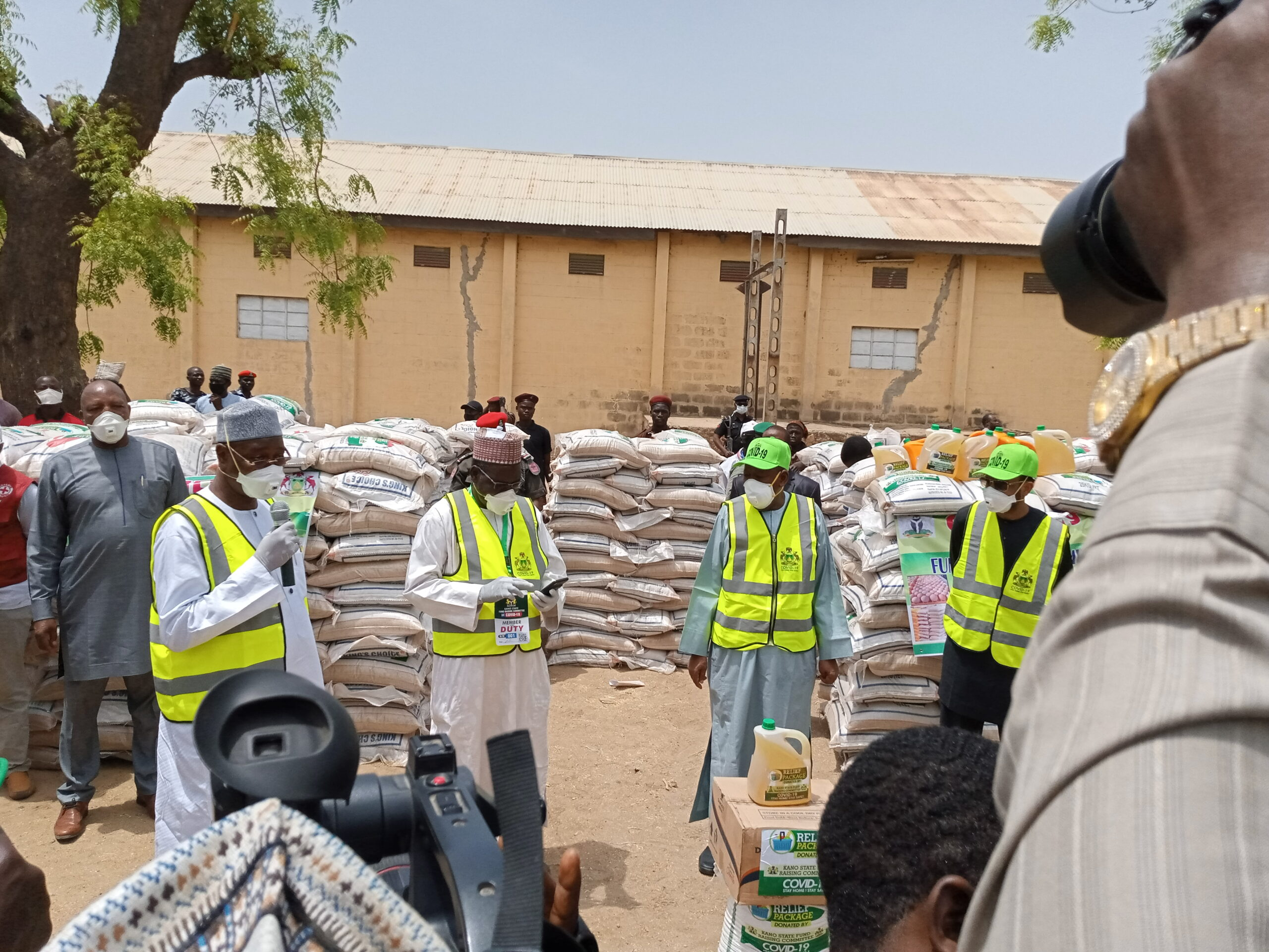 COVID-19: 50,000 poor households get palliative in Kano