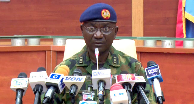 Military allays fear over alleged Al-Qaeda, ISIS inroad to Nigeria