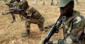 Niger soldiers