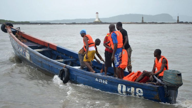 10 escape death as boat capsizes in Lagos