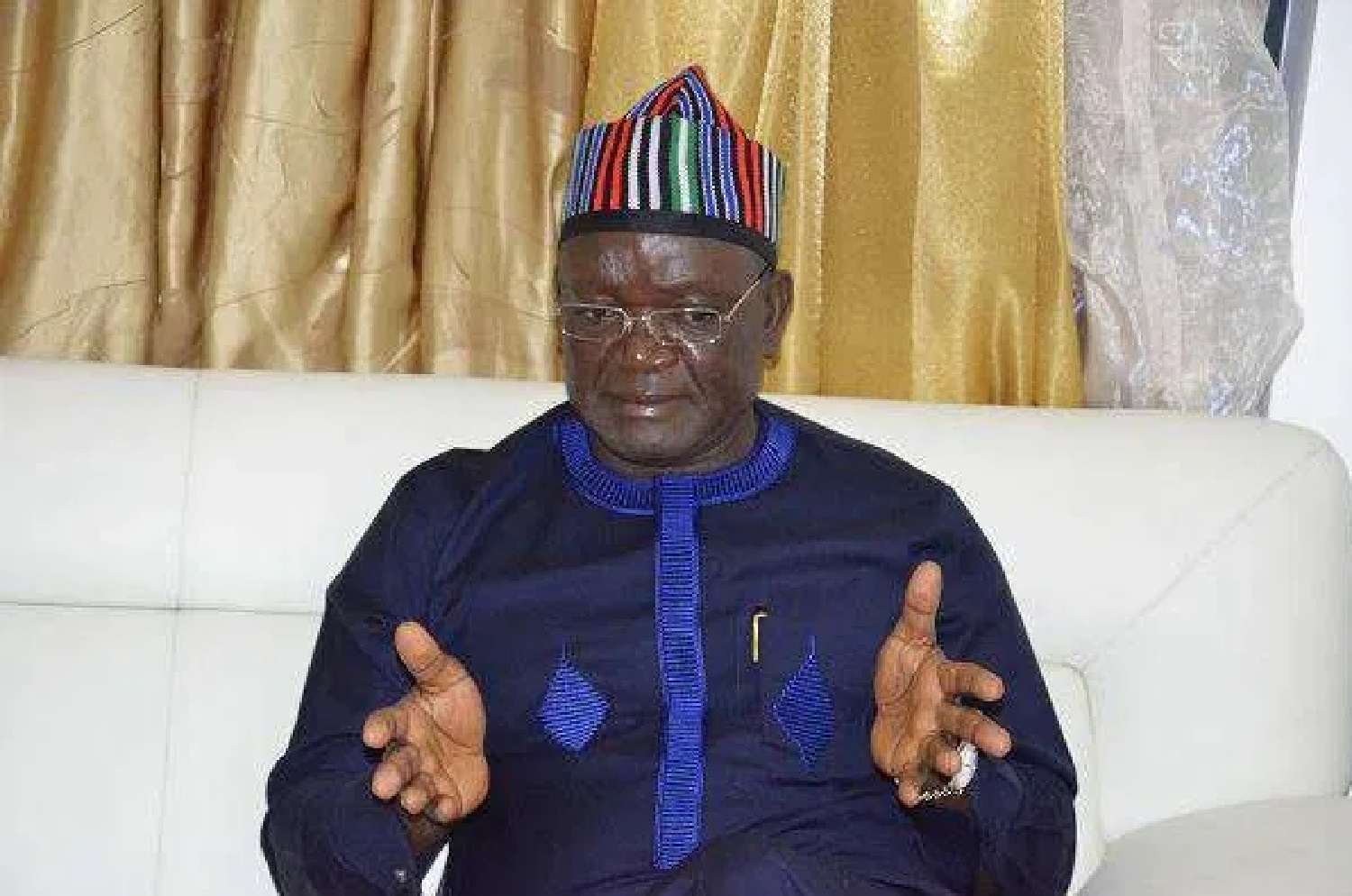 Prevail on FG to stop $1.9billion rail project to Niger Republic, Ortom urges NASS
