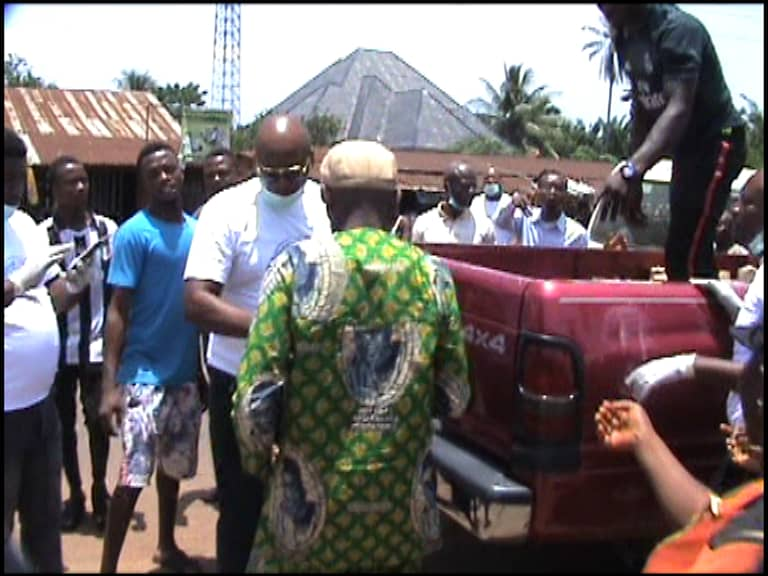COVID-19: Sen. Uba distributes relief materials, task Ndi Anambra on safety measures