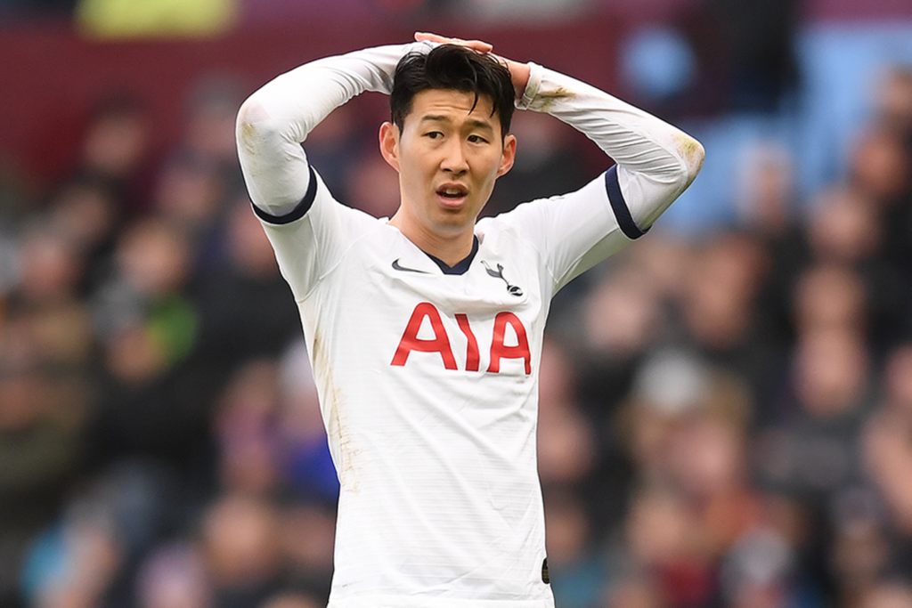 Spurs, Son Heung Min, Military service