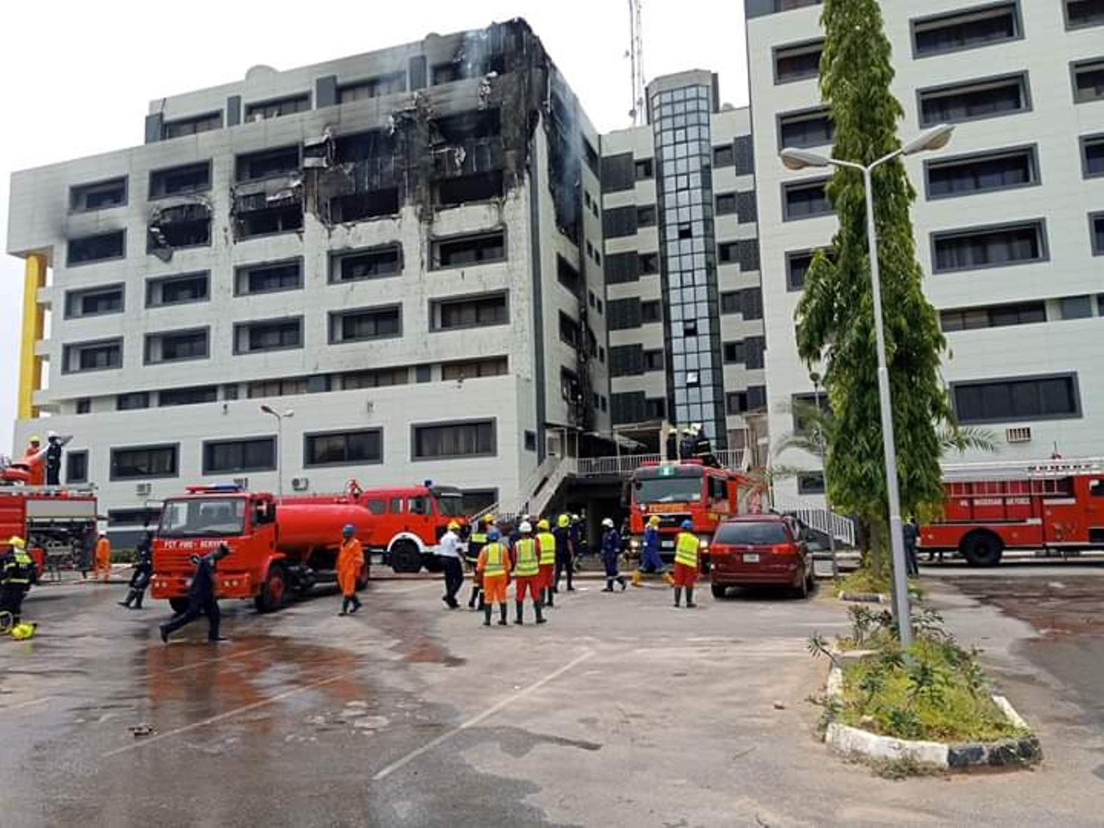 PDP demands full-scale investigation into Treasury House fire