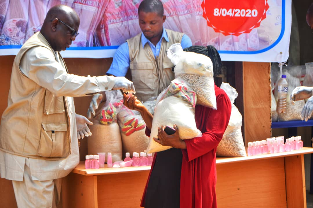 NGO donates food items to last two weeks to fifty households in Ilorin
