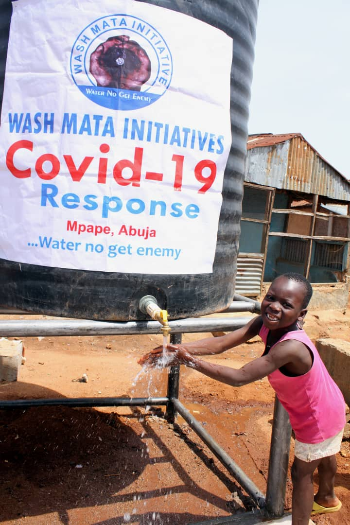 Lockdown: CSO supports 1.5m Mpape residents with 5000L of water, foodstuff
