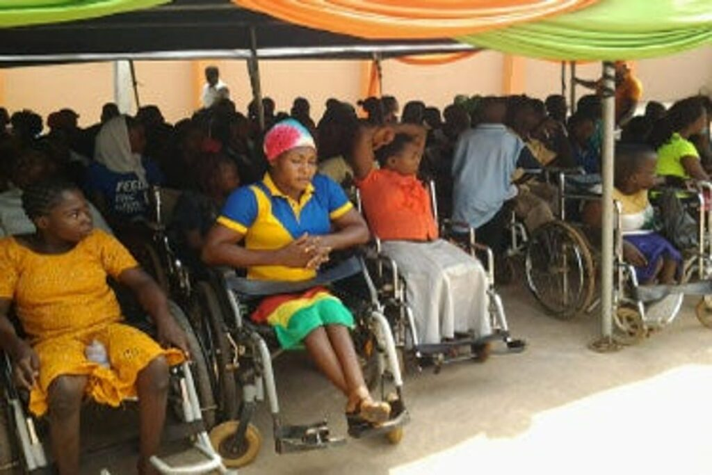 'Only transparent enhancement of 31 million disabled Nigerians can guarantee sustainable development goals'