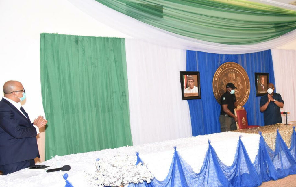 NCDC lauds Wike for his committed, personally-led response to COVID-19