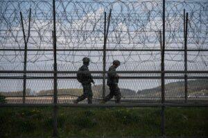 North Korea, South Korea exchange gunfire at border