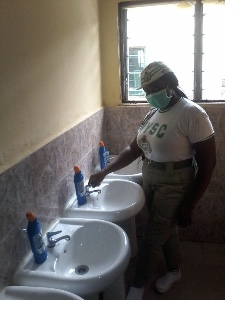 Why I did secretariat toilets project — NYSC member
