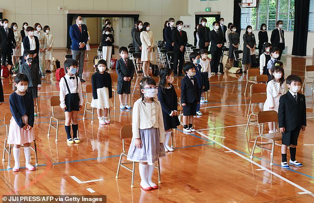 Japanese experts warn face masks too dangerous for children under age two