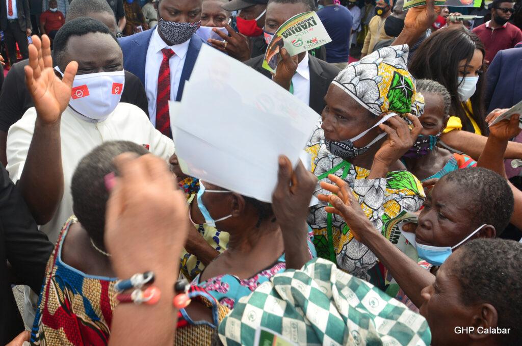 Ayade hands over 52 housing units to Bakassi IDPs, widows