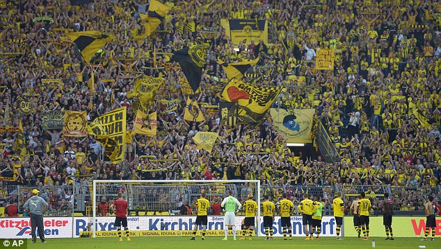 German football clubs to allow fans into stadium from next month