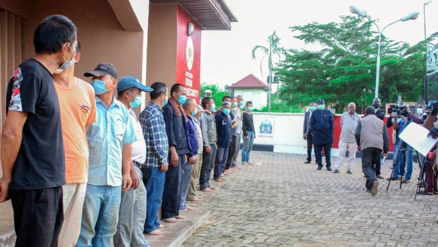 Refusal to release 17 illegal Chinese miners by Osun Govt to FG contravenes Constitution — WIMN