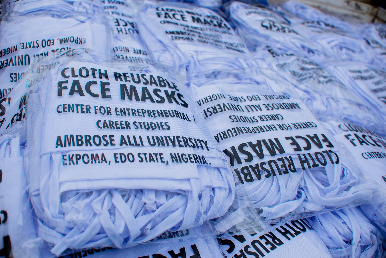 Coronavirus: Ambrose Alli Varsity boosts Edo govt's response with 5,000 reusable facemasks