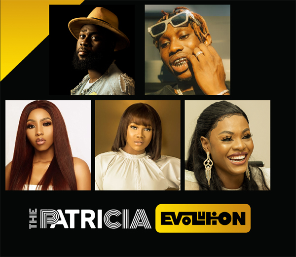 "Zlatan, Tacha, Mercy, others join Patricia's ""Evolution"" as brand ambassadors"