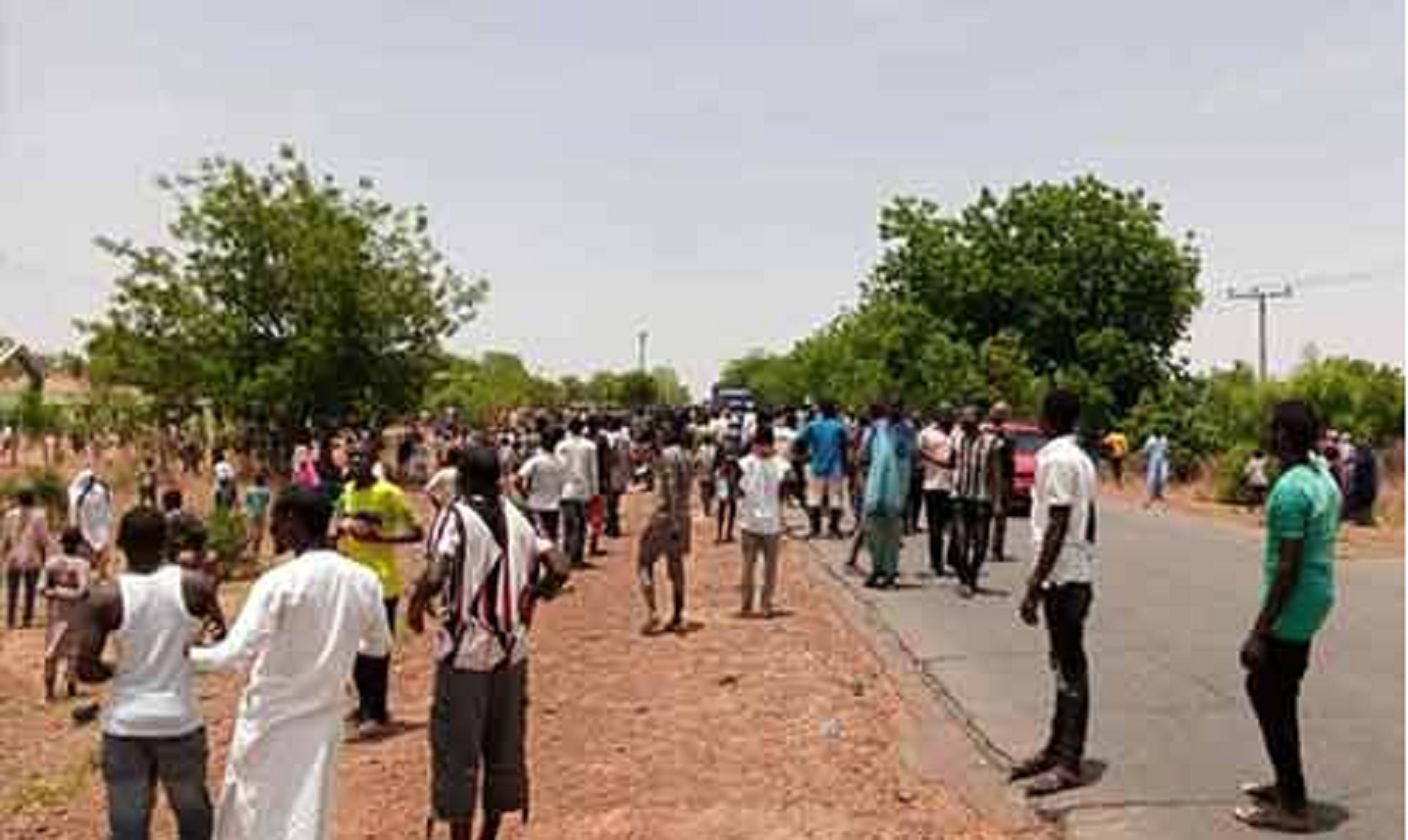 COVID-19 patients hit the streets in Gombe, protest 'hunger in isolation'