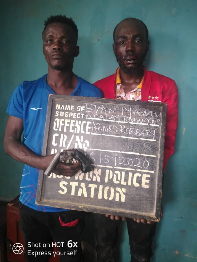 """We came from Lagos to rob in Ogun"", suspects confess"