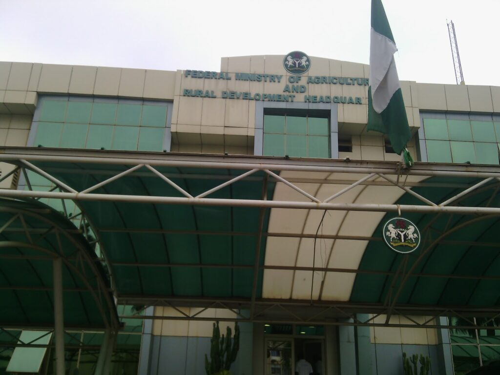Over 50 enraged contractors storm Ministry of Agric, block entrance to Minister's office