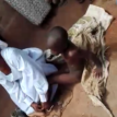 GRAPHIC VIDEO: Mother ties son in sack for four days for possessing evil spirit in Osun