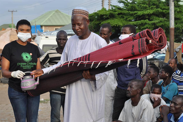 Foundation reaches out to Muslims ahead of Eid-Al Filtr, donates goats, prayer mats, others