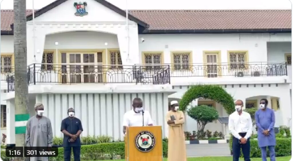 Easing of lockdown: Sanwo-Olu reads riot act against flouting of safety directives