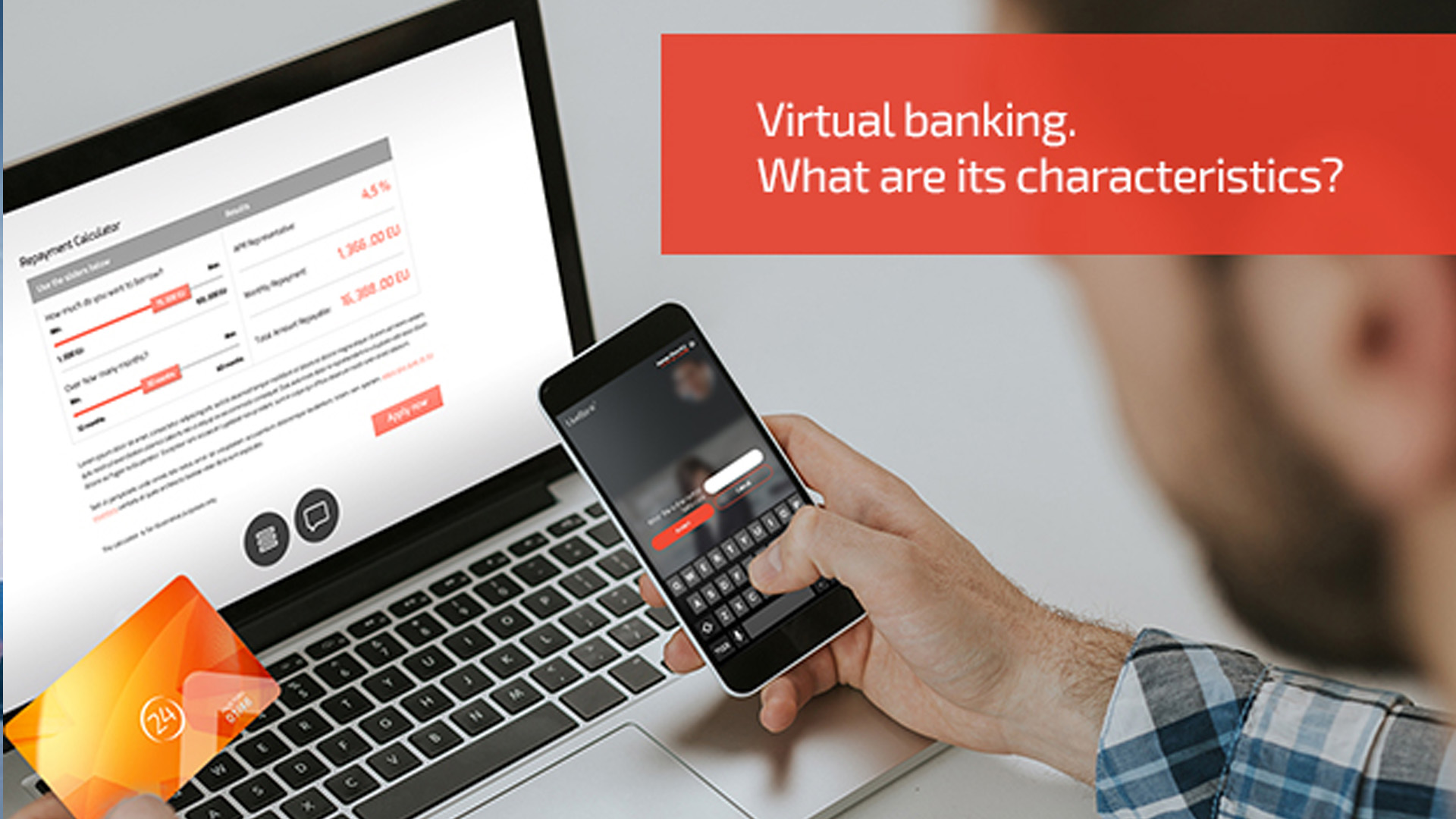 Virtual banks, perhaps the only way