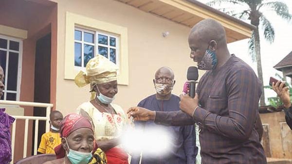 How I built shelter for 3 widows – Okafor, lawmaker
