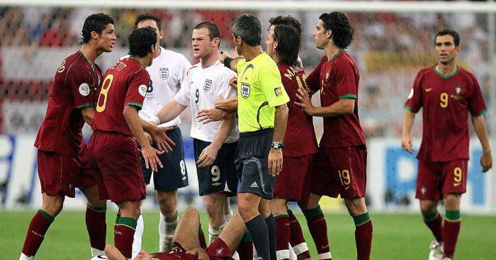 Neville, Ronaldo, Rooney, Man United