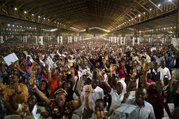 MASKED, 60-YR-OLD WORSHIPERS:Controversy as Lagos churches reopen today