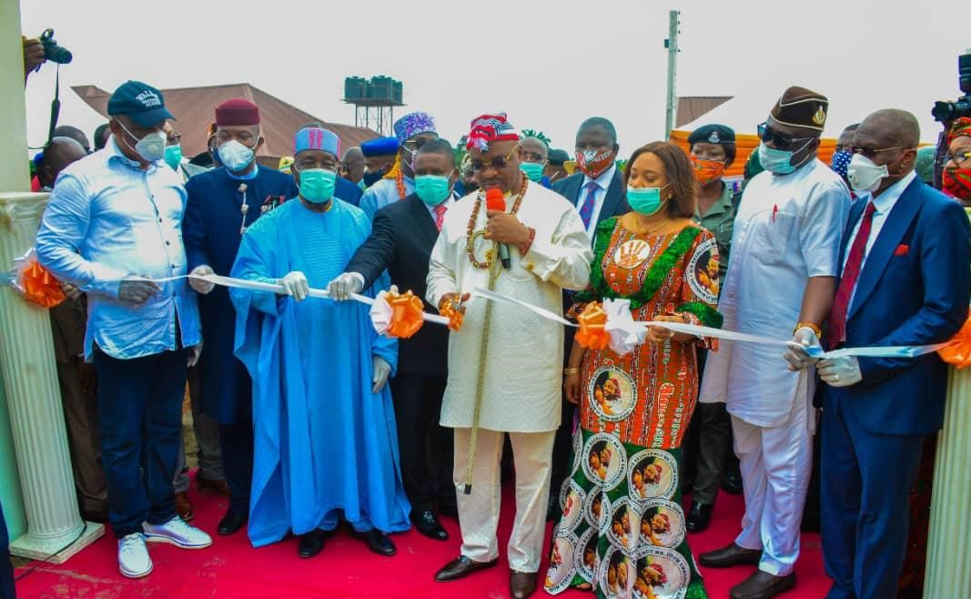 5th Anniversary: Gov Emmanuel commissions Isolation Center